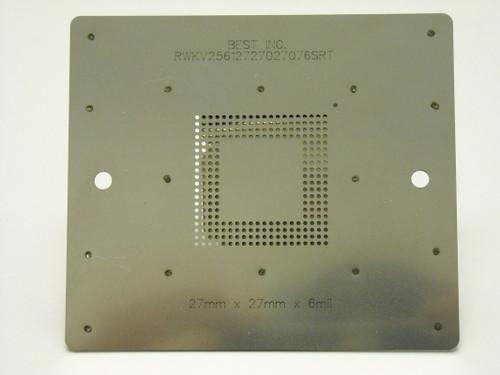 SRT component printing stencil 2