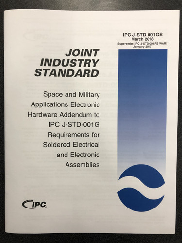 IPC J-STD-001GS Space Addendum (Revision G - Space)