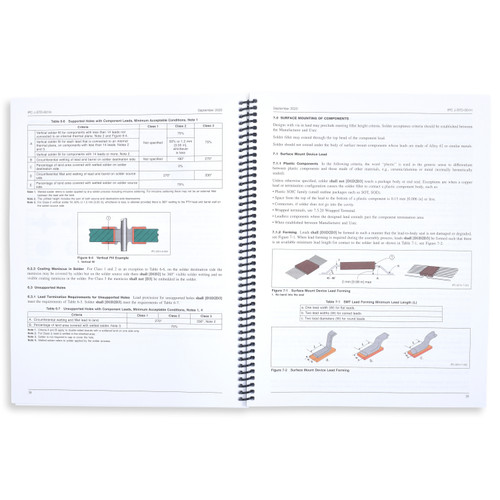 IPC-J-STD-001H: Requirements for Soldered Electrical and Electronic Assemblies Revision H (Hard Copy)