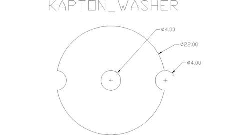 Custom Kapton washer