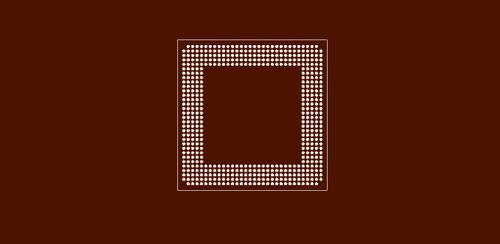 Reballing preform for CXD9833GB PS-3 chipset