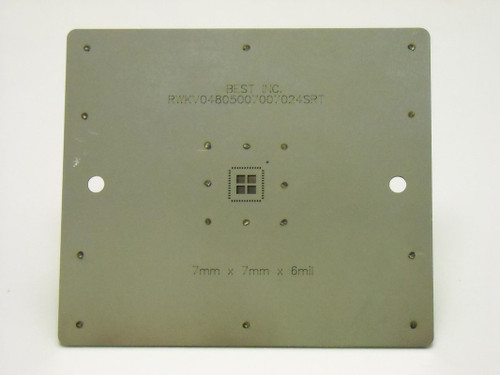 SRT component printing stencil 1