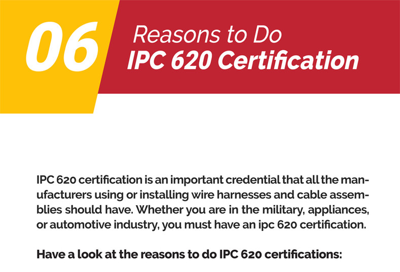 06 Reasons To Do IPC 620 Certification