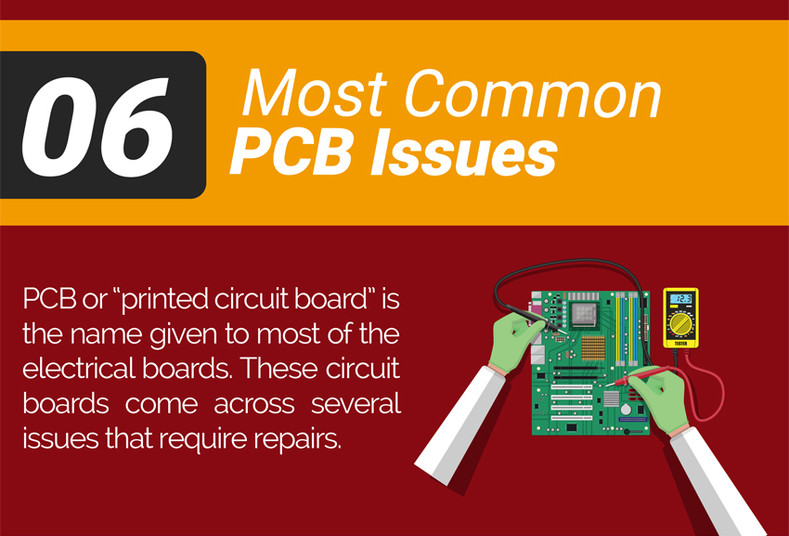 06 Most Common PCB Issues