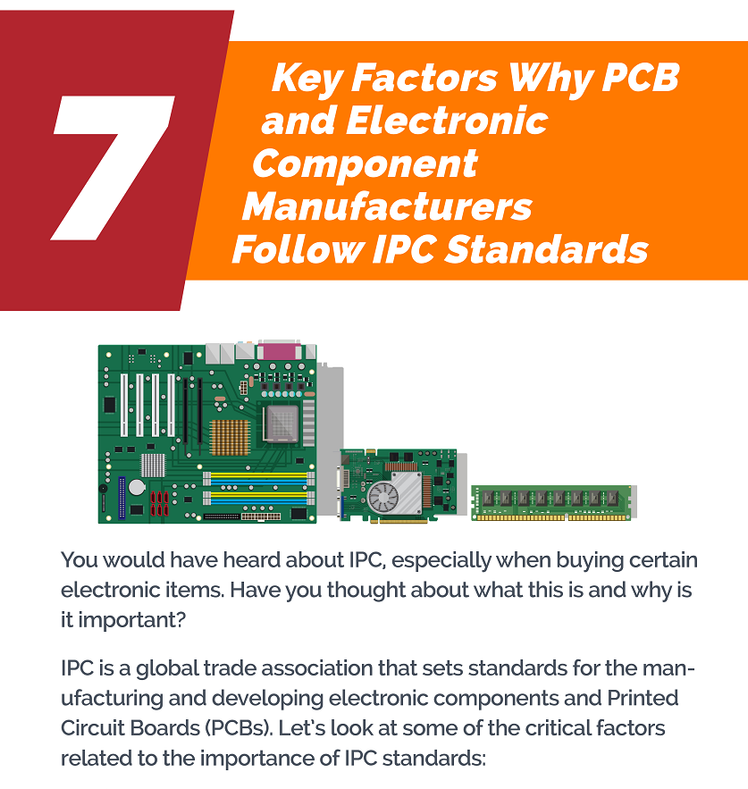 07 Key Factors Why PCB And Electronic Component Manufacturers Follow IPC Standards
