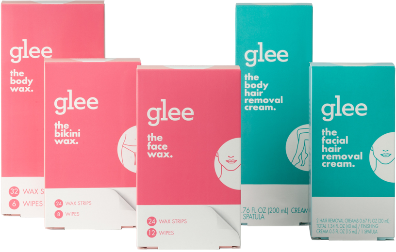 glee waxes and creams