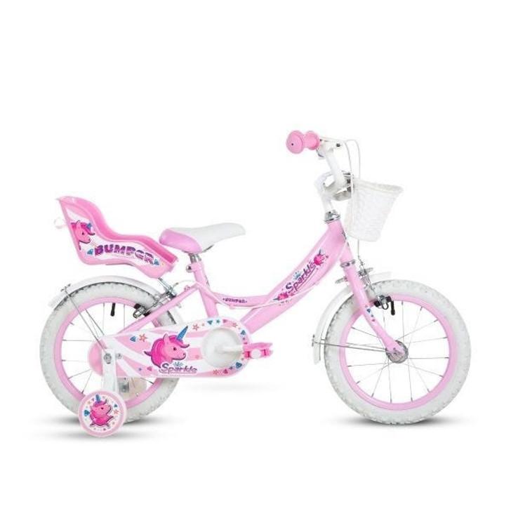 "14"" Sparkle Girls Bike"