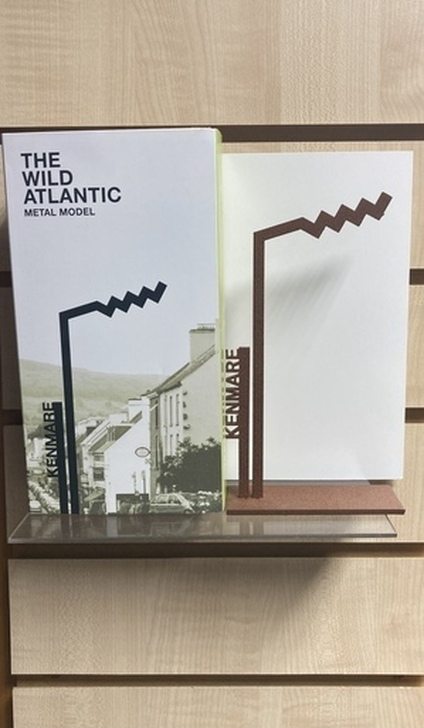 Irish Handmade Kenmare Wild Atlantic Way Metal Model