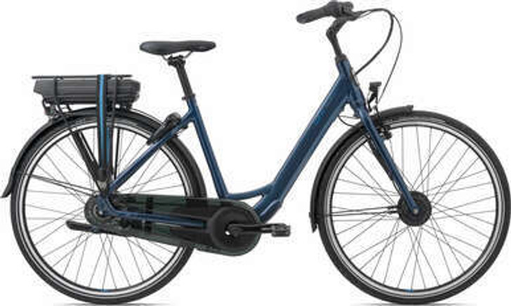 2021 Giant Ease-E+ 2 Low Step-Through Electric Bike in Blue