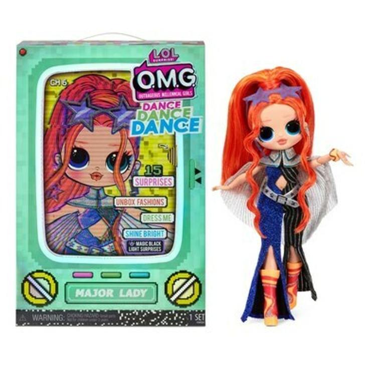 L.O.L. Surprise! OMG Dance Dance Dance Major Lady Fashion Doll