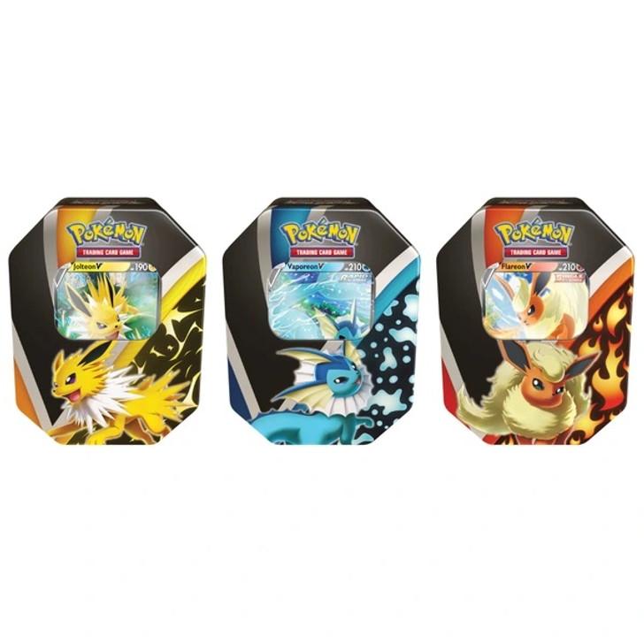 Pokemon TCG: Eevee Evolutions Tin (Fall 2021) CASE