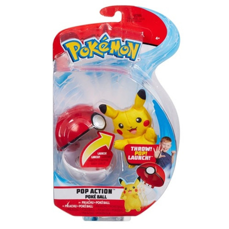 Pikachu Solid - Pop Action Poke Ball