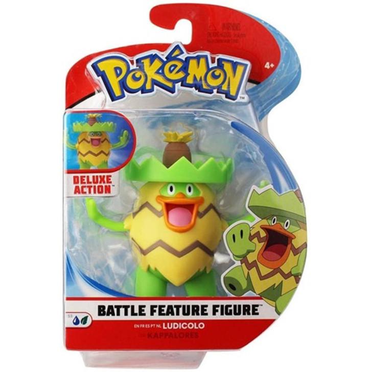 "Ludicolo - Pokemon 4.5"" Battle Feature Figure"