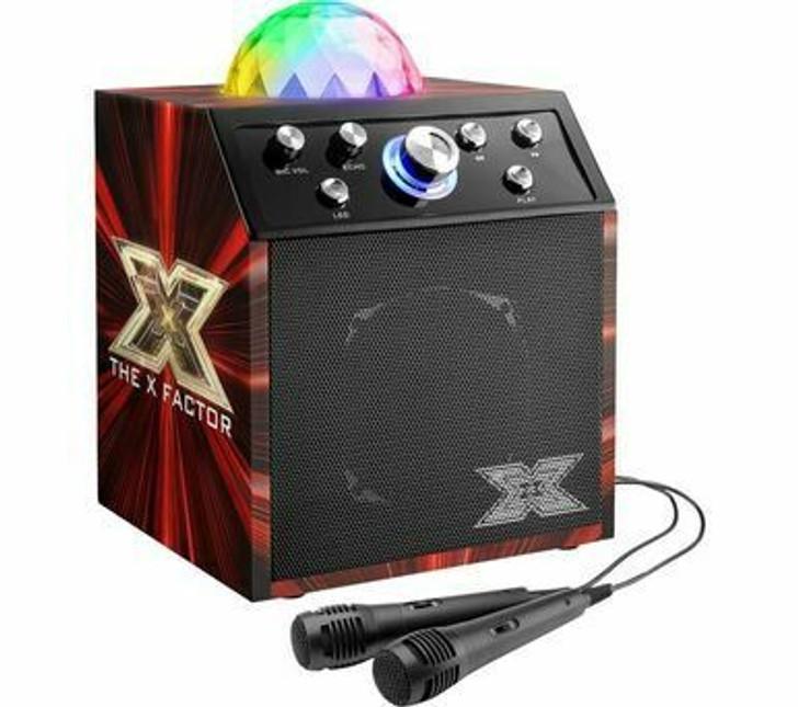 X Factor Disco Cube Speaker Printed