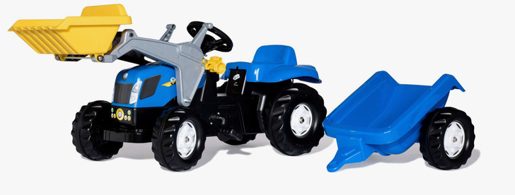 kids new holland ride on tractor