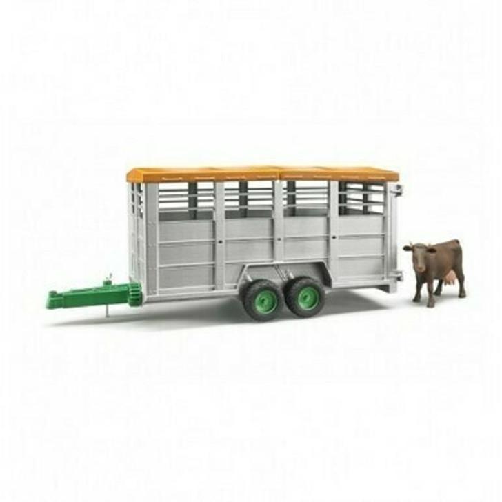 Livestock Trailer W/ 1 Cow