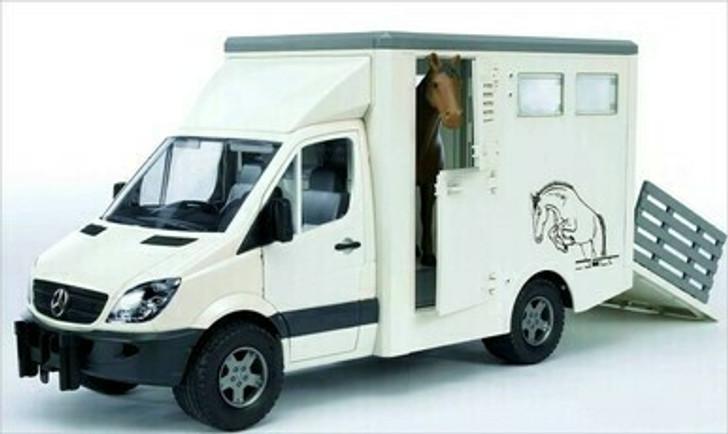 Bruder Mercedes Benz Sprinter Animal Transporter