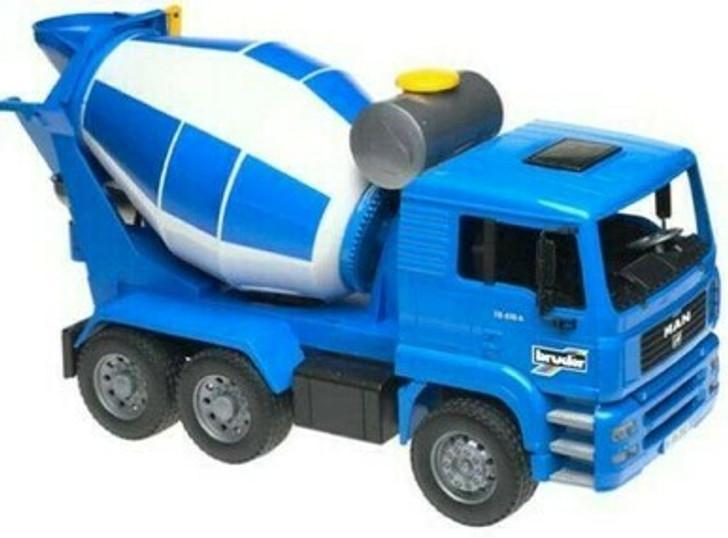 Bruder Man Cement Truck