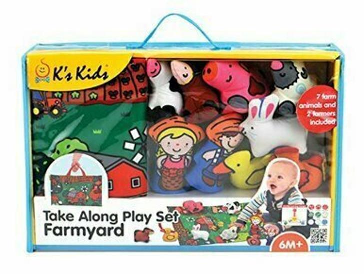 Take Along Play Set - Farmyard