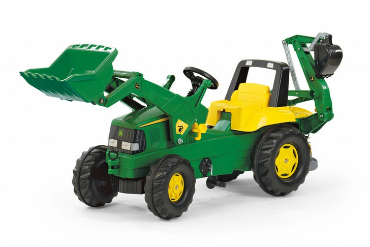 John Deere Tractor with Loader & Backhoe