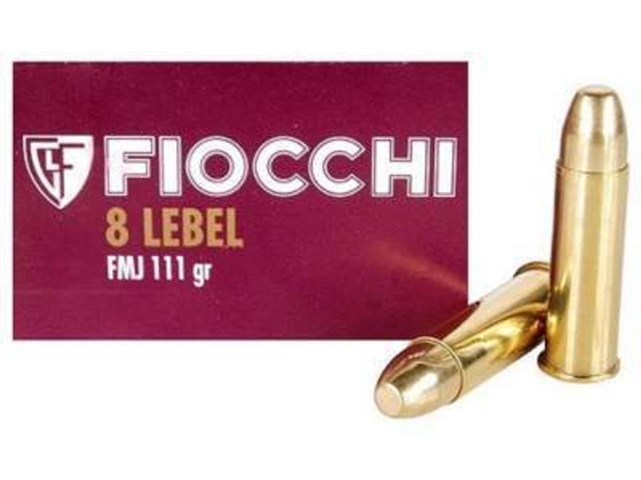 8mm Lebel Revolver Ammo
