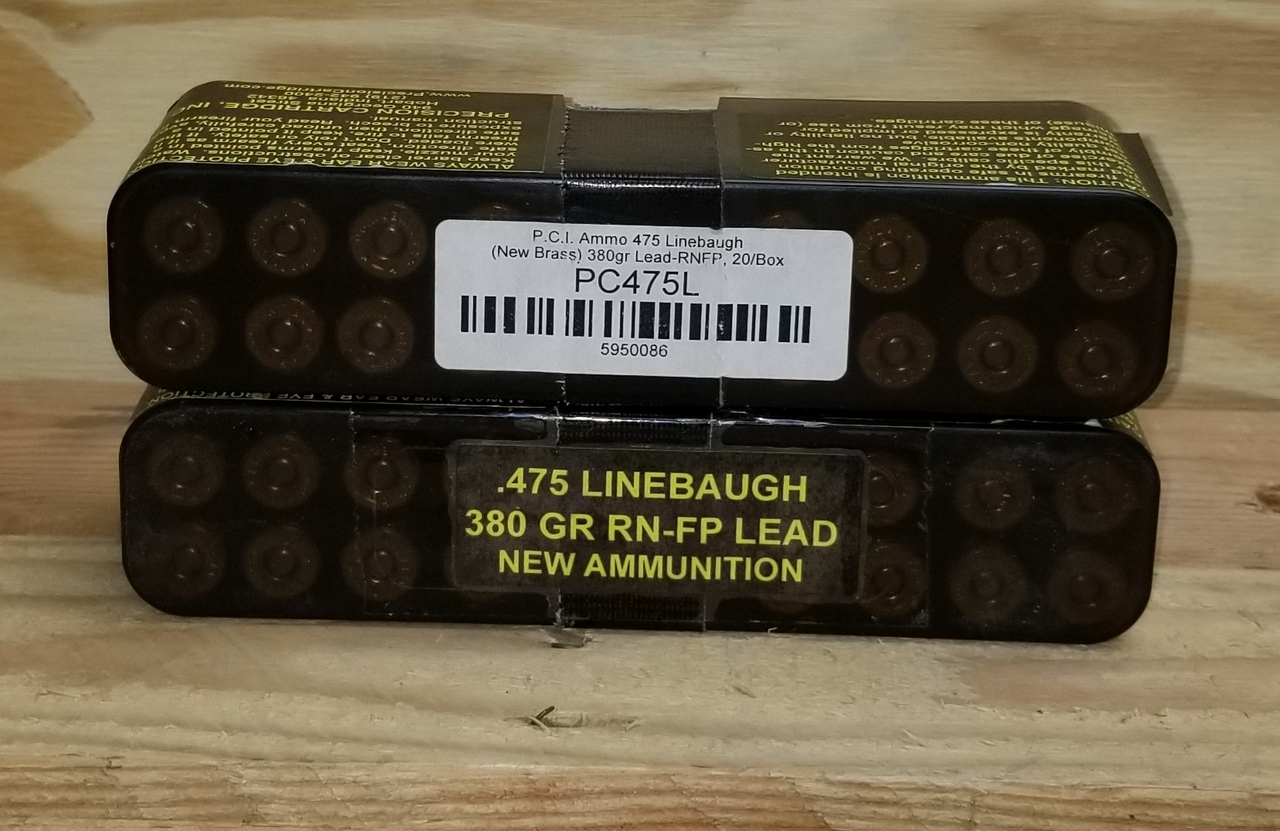 475 Linebaugh Ammo