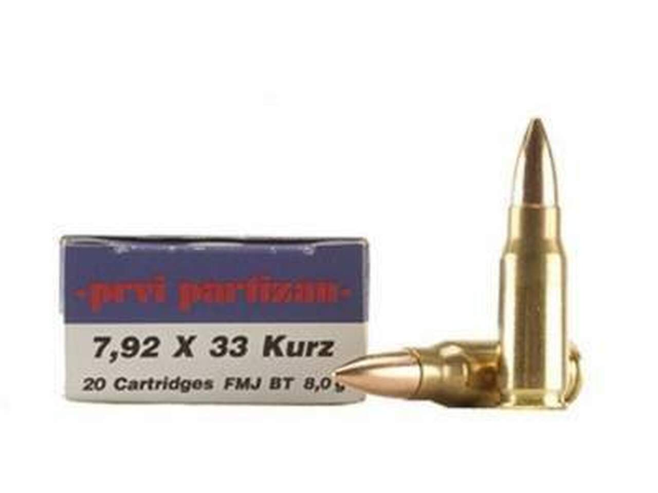 7.92x33mm Kurz Ammo