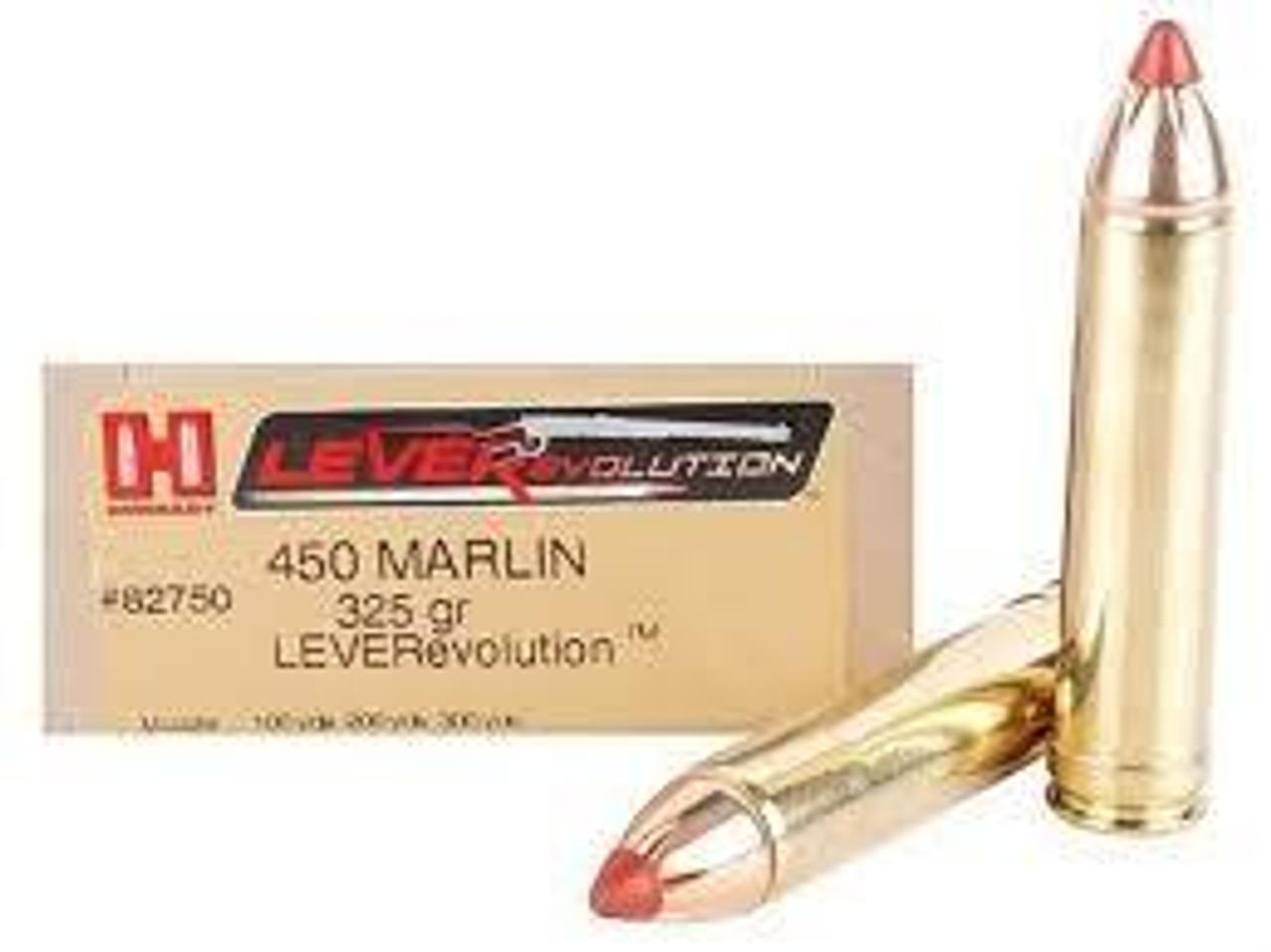 450 Marlin Ammo