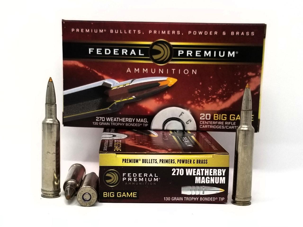 270 Wby Mag Ammo