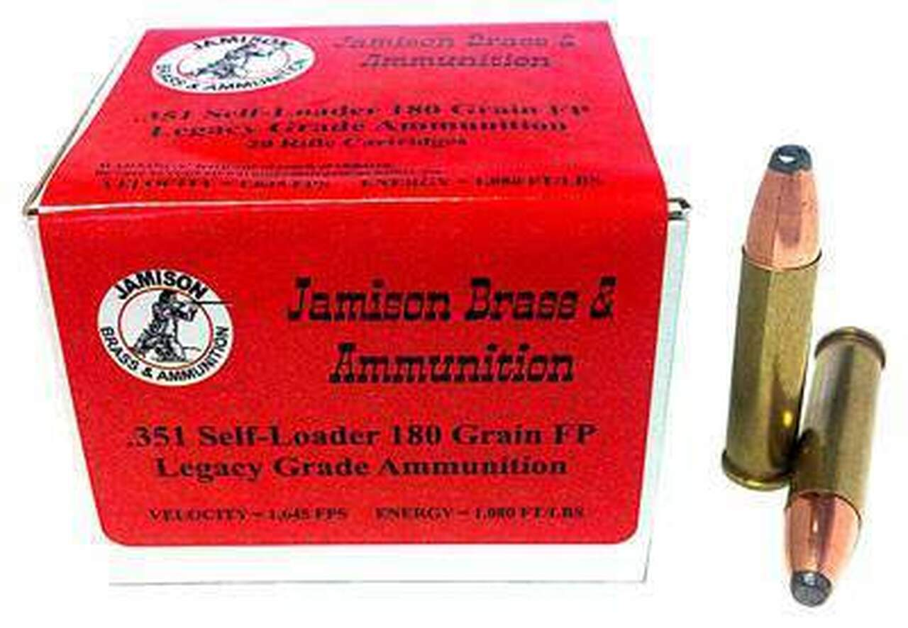351 Winchester Self-Loading Ammo