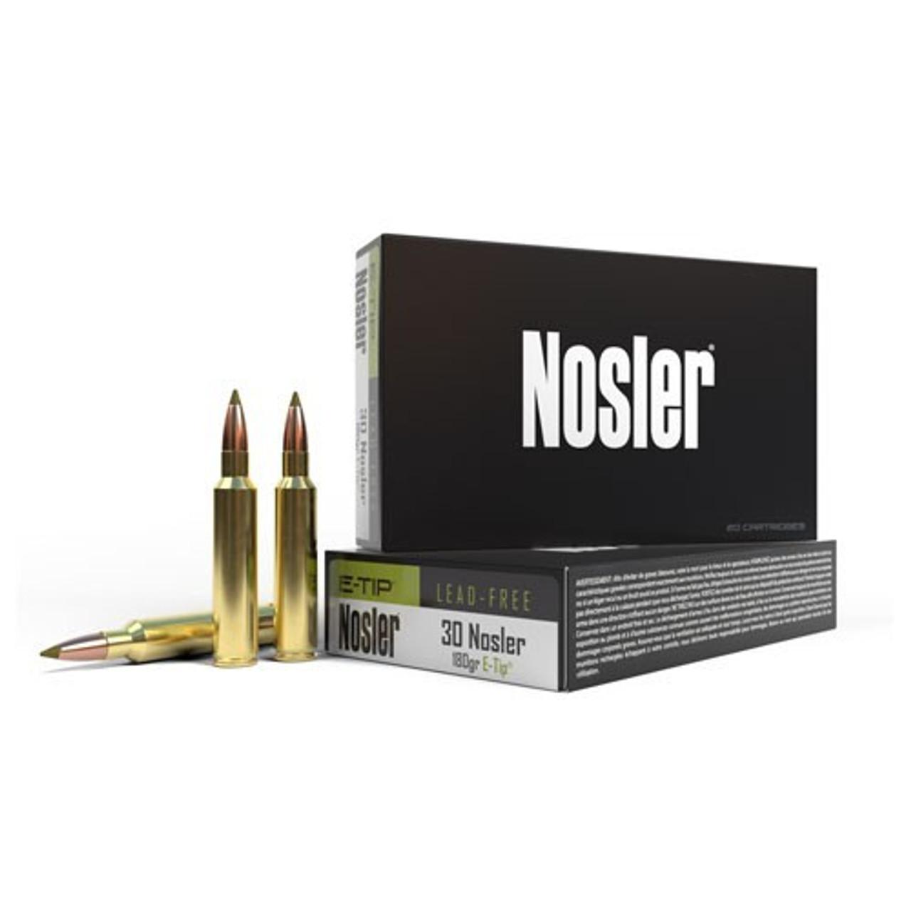 30 Nosler Ammo