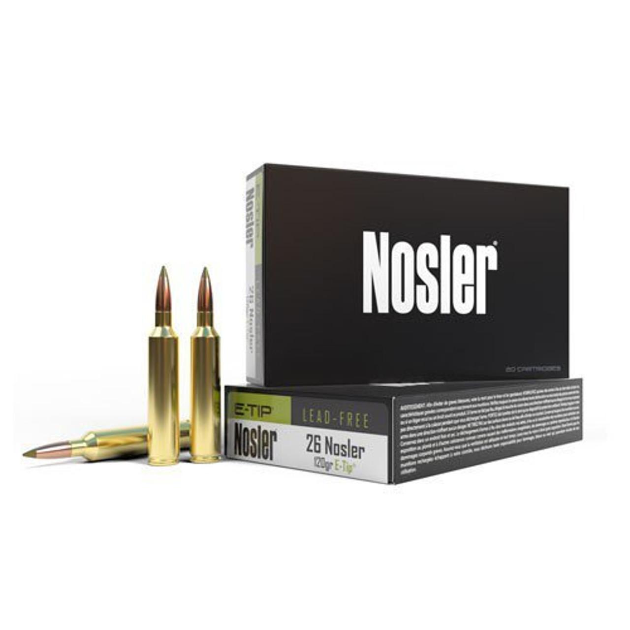 26 Nosler Ammo