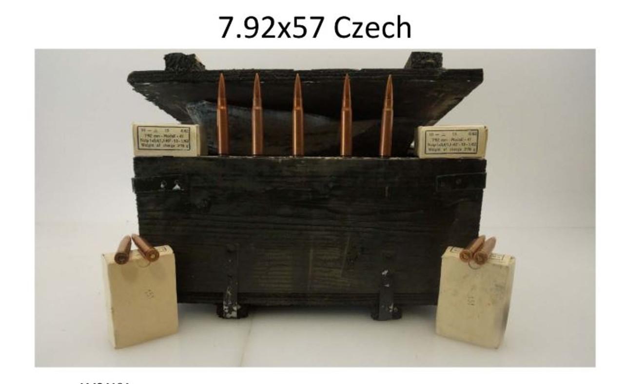 Czech 8mm Mauser M47 Surplus Ammunition AM2419A 180 Grain Full Metal Jacket  Wooden Crate of 900 Rounds