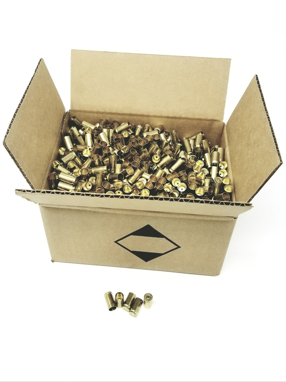 Federal 9mm Primed Reloading Brass Casting 1500 Pieces
