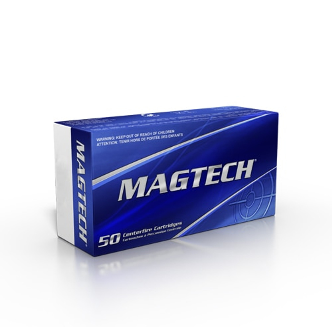Magtech 10mm Ammunition 10B 180 Grain Jacketed Hollow Point 50 Rounds