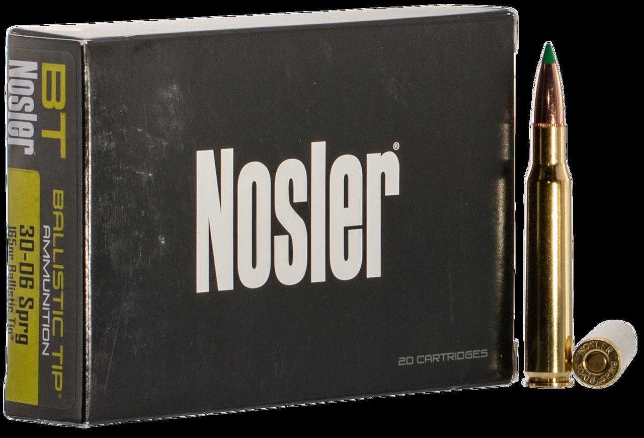 Nosler 30-06 Ammunition 40043 165 Grain Ballistic Tip 20 Rounds