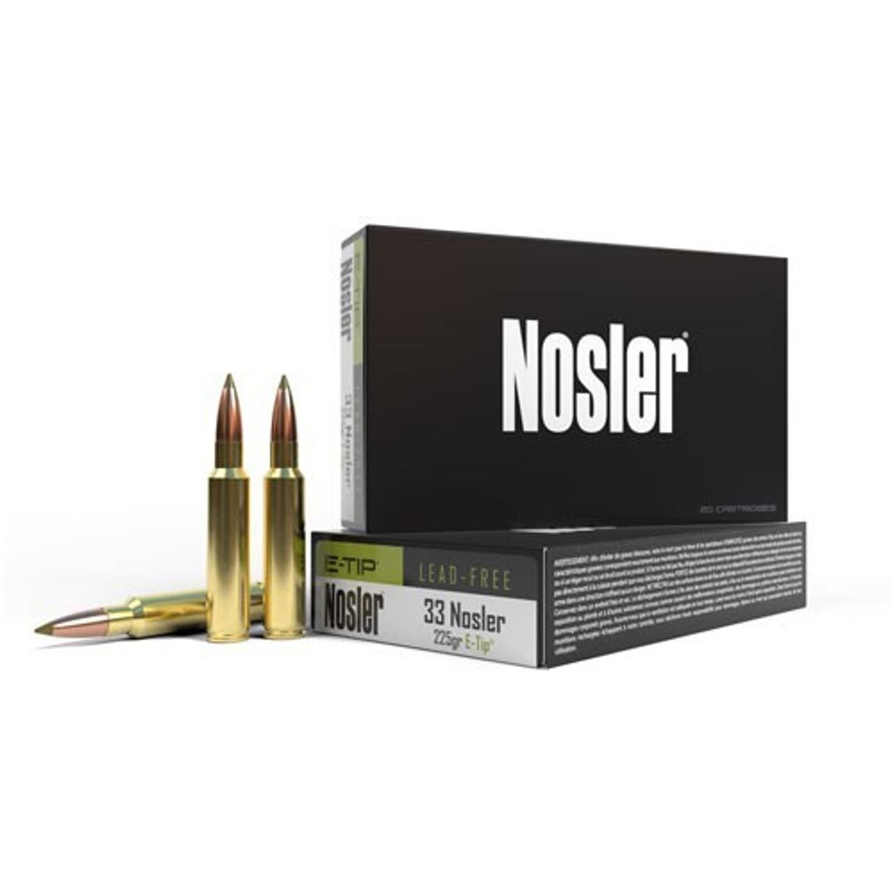 33 Nosler Ammo