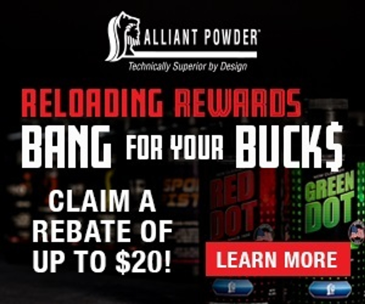 Alliant Powder More Bang For Your Buck$ Rebate