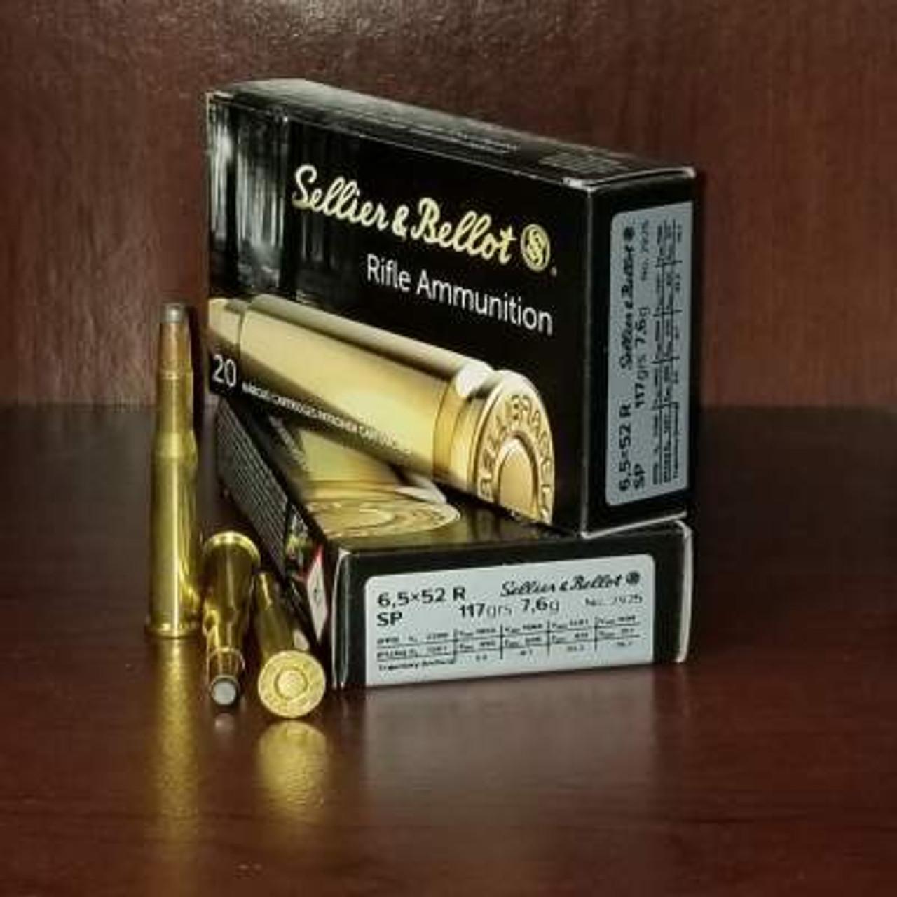 6.5x52R Ammo