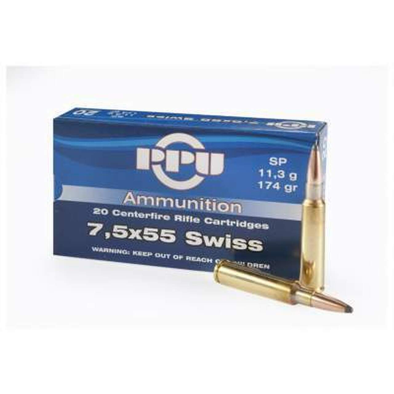 7.5x55mm Swiss Ammo