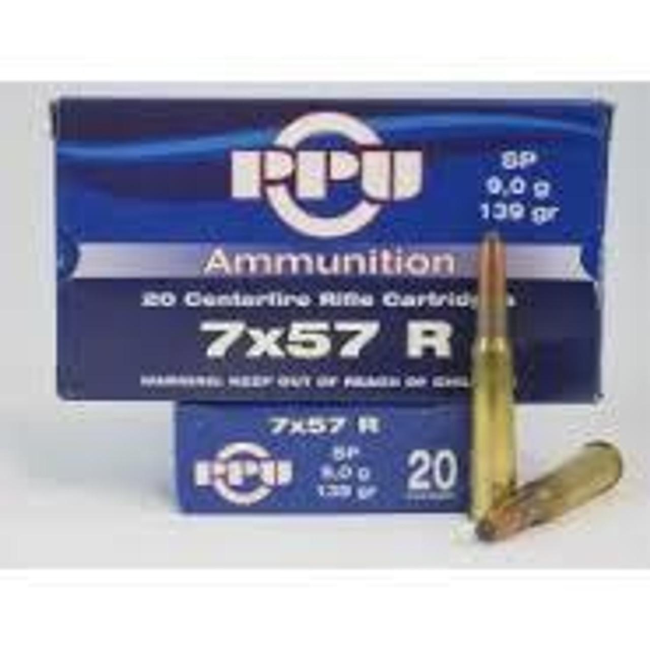 7mm x 57 Rimmed Ammo
