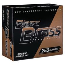 CCI 9mm Ammunition Blazer Brass 5203 147 Grain Full Metal