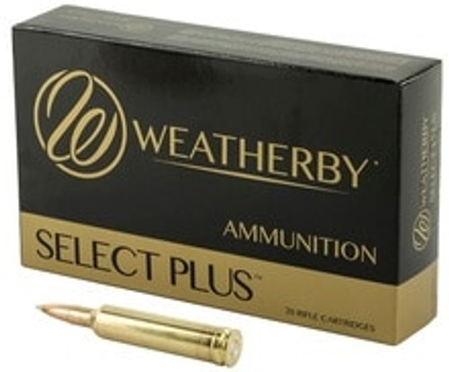Weatherby 257 Weatherby Mag Ammunition 40165402 115 Grain Ballistic Tip 20 Rounds