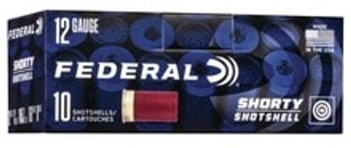 "Federal 12 Gauge Ammunition FSH1298 1-3/4"" 8 Shot Shorty Shell 10 Rounds"