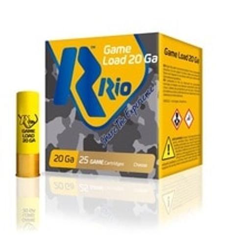 "Rio 20 Gauge Ammunition RSL20 2-3/4"" 7/8 oz Slug 25 Rounds"