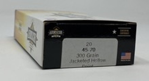Armscor 45-70 Ammunition 300 Grain Jacketed Hollow Point 20 Rounds