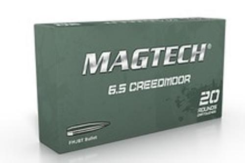 Magtech 6.5 Creedmoor Ammunition MT65A 140 Grain Full Metal Jacket 20 Rounds