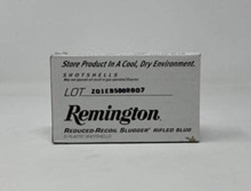 """Remington 12 Gauge Ammunition RR12RSBDHS 2-3/4"""" 1 oz Reduced Recoil Slugger 5 Rounds"""