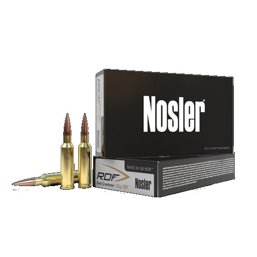 Nosler 6mm Creedmoor Ammunition NOS60170 115 Grain RDF Open Tip 20 Rounds
