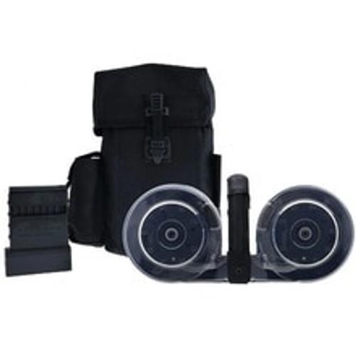 KCI 5.56mm / 223 Remington AR15 Magazine 100 Rounder Drum Black